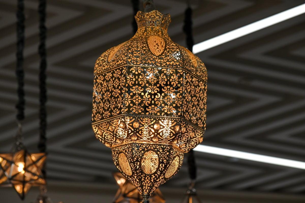 chandelier, electricity, interior design, lamp, shadow, decoration, design, light, hanging, indoors