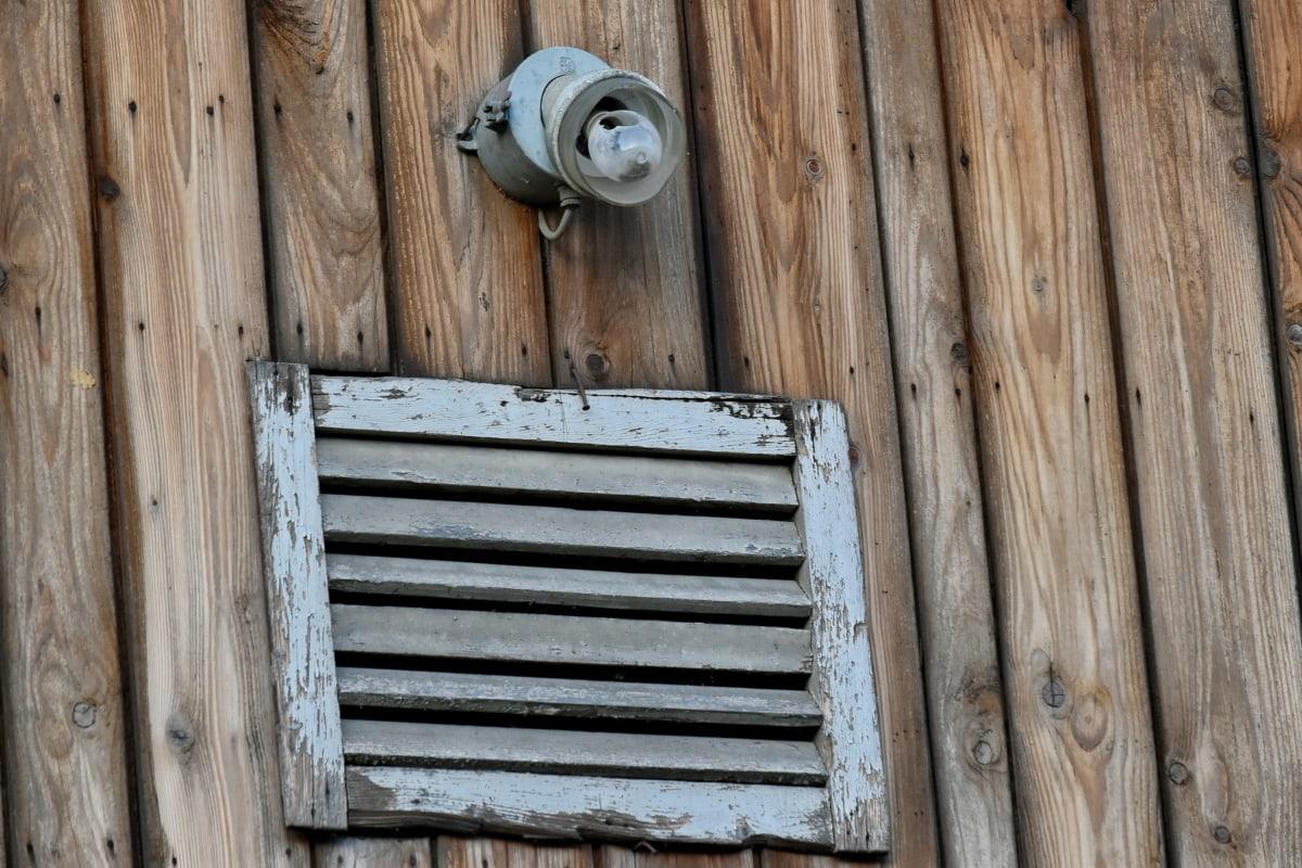 λάμπα φωτός, σκουριά, υπόστεγο, κλωστοϋφαντουργίας, ξύλο, παλιά, τοίχου, ξύλινα, συσκευή, πόρτα