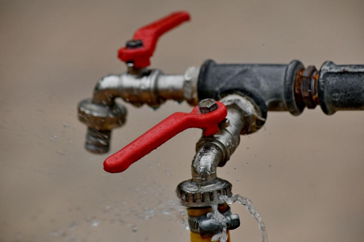 kohoutek, průmysl, potrubí, zařízení, ocel, domovní instalace, technologie, Nástroj, strojní zařízení, staré