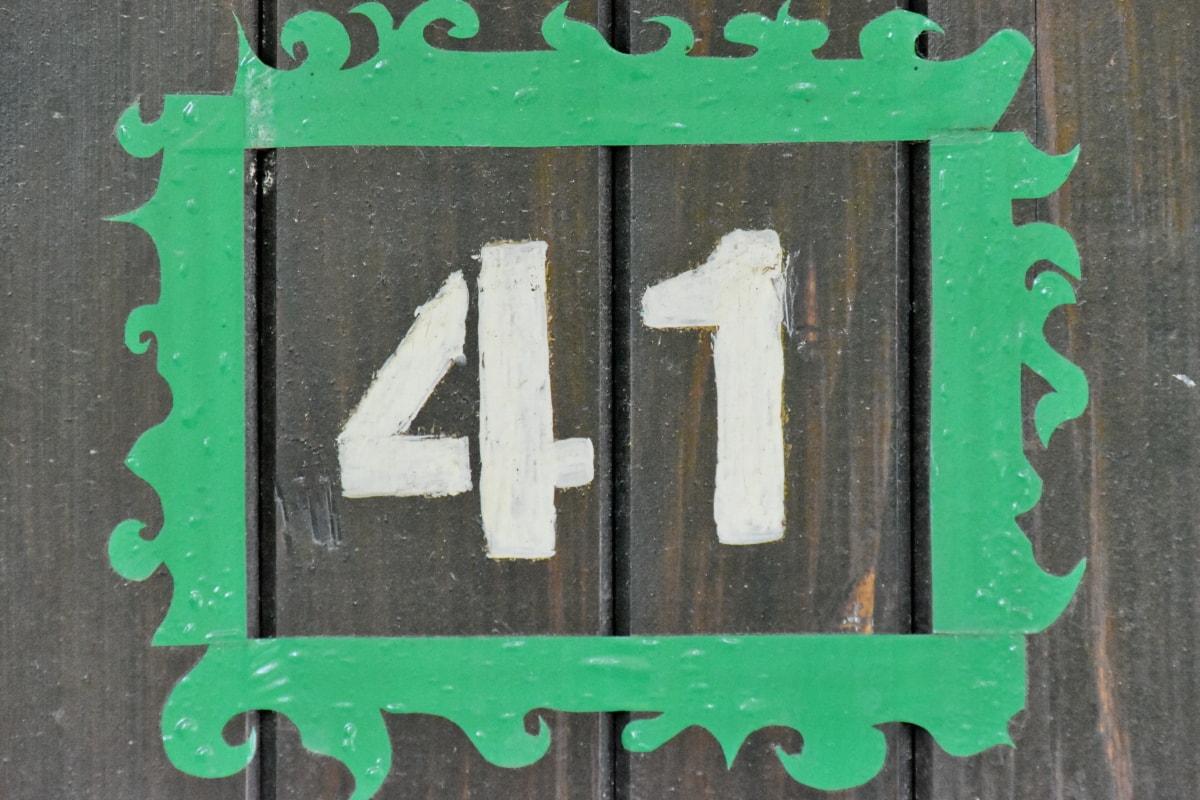 数量, 标志, 版式, 木材, 老, 木, 复古, 行业, 设计, 连接