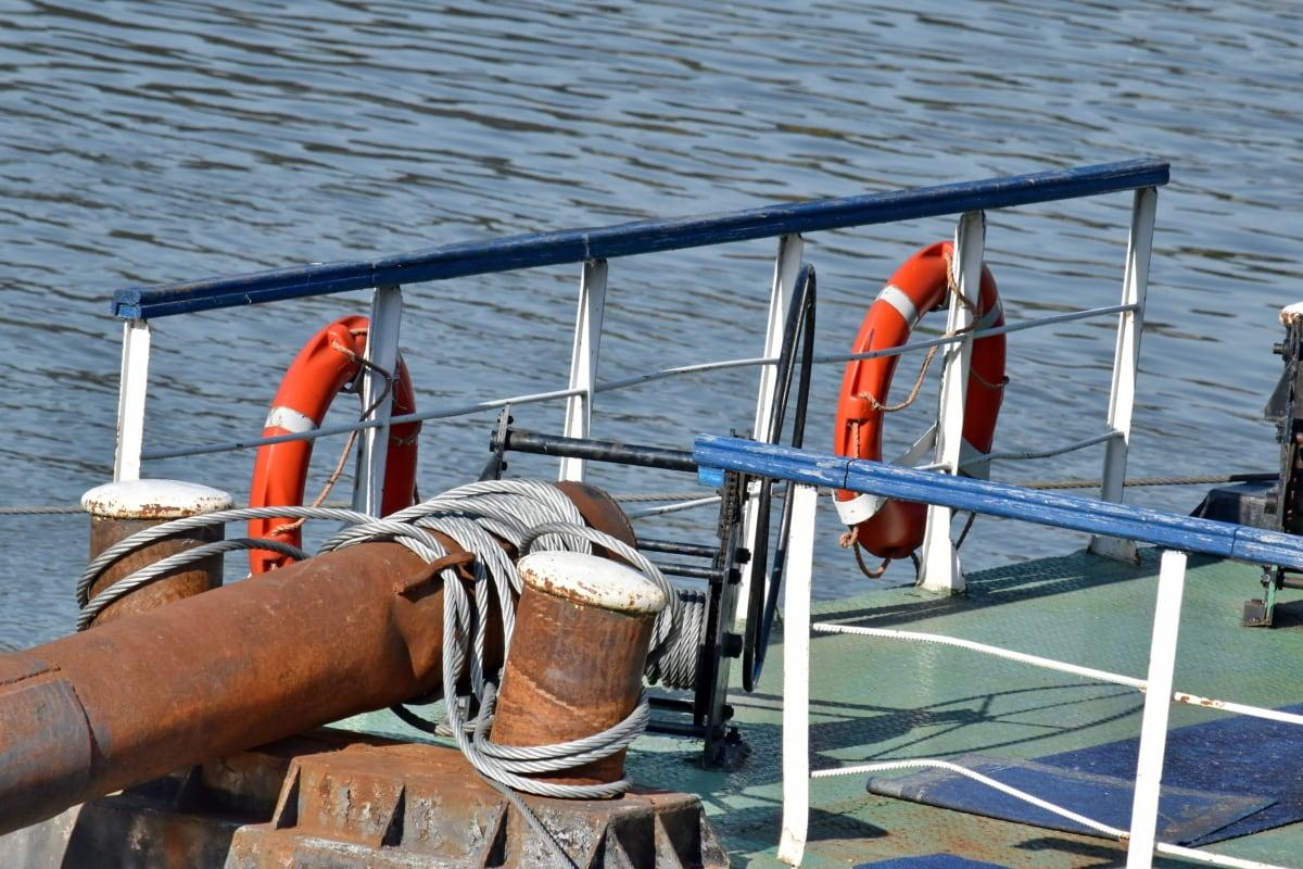 water, equipment, watercraft, sea, float, life preserver, boat, people, vehicle, recreation