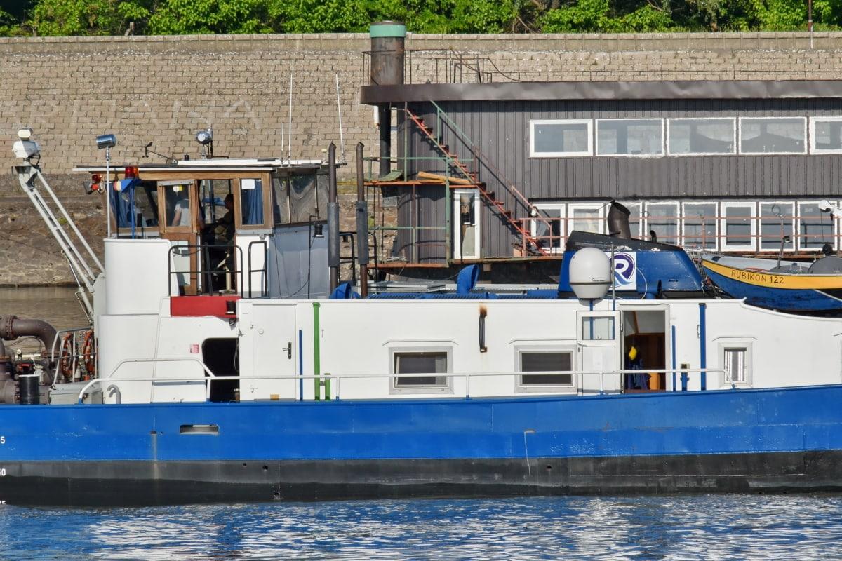 tugboat, sea, fishing boat, ship, water, fisherman, boat, outdoors, seashore, harbor