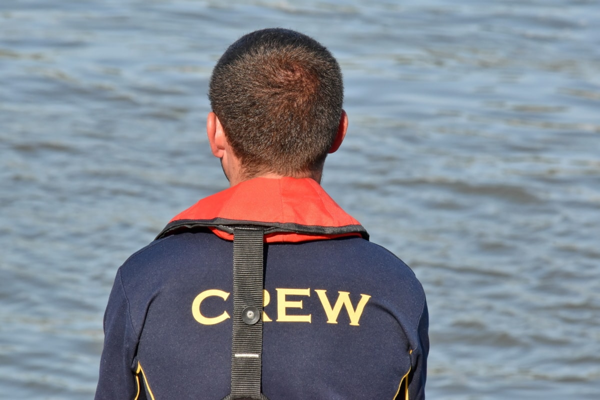 crew, man, teamwork, worker, workman, covering, water, clothing, outdoors, people