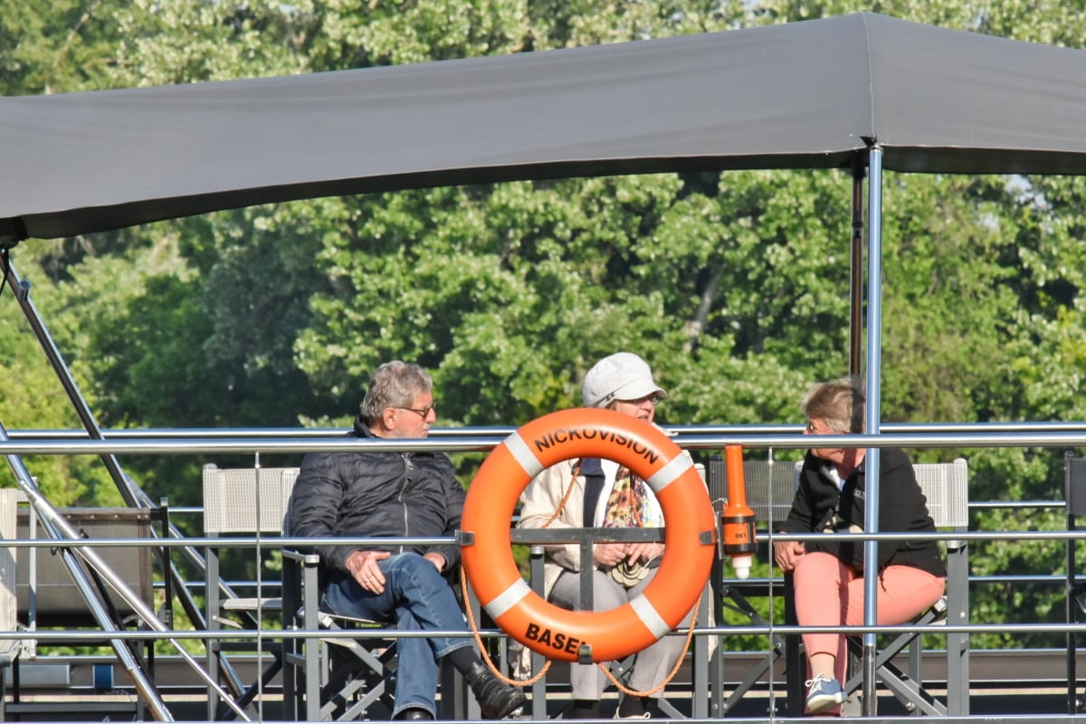 conversion, cruise ship, people, togetherness, tourism, tourist, life preserver, float, outdoors, industry