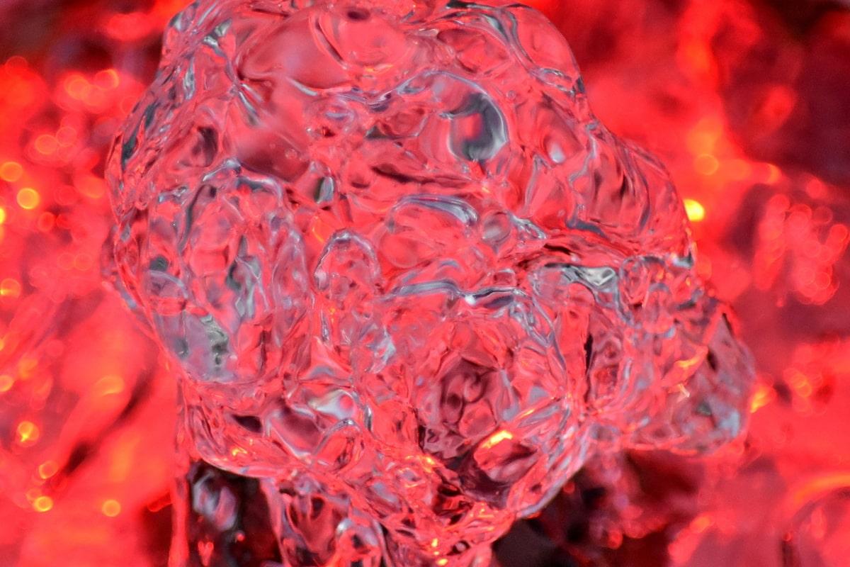 Aqua, suihkulähde, valaistus, punainen, paistaa, tilkka, väri, Tiivistelmä, kirkas, Luonto