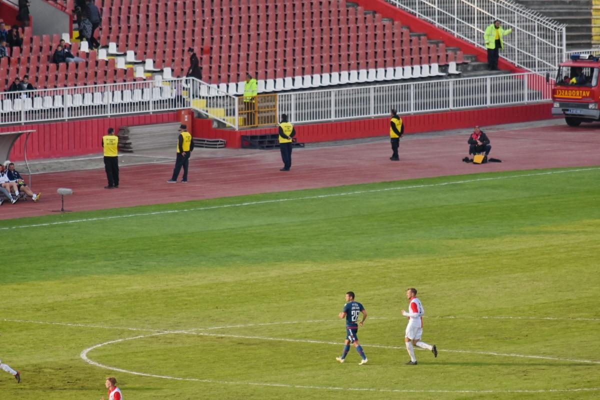 jucător de fotbal, Sport, fotbal, concurs, Stadionul, iarba, structura, fotbal, joc, atlet
