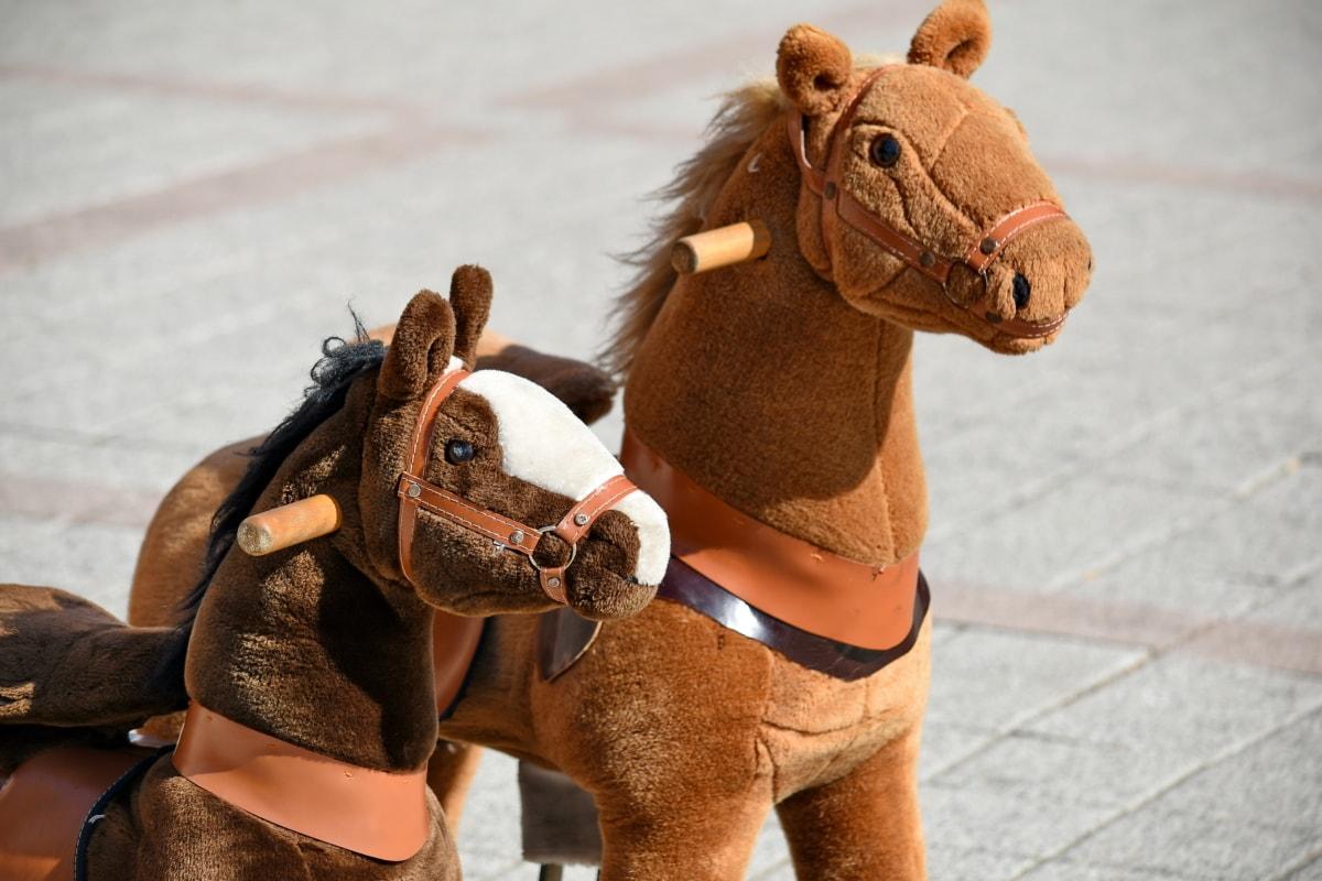 chevaux, peluche, jouets, animal, cheval, Portrait, compétition, homme, tête, cavalerie