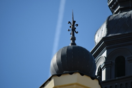 tower, building, architecture, dome, city, daylight, outdoors, roof, old, structure