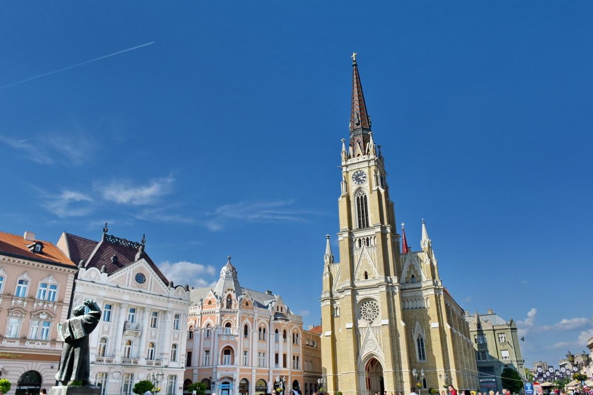 centar grada, turistička atrakcija, reper, religija, katedrala, arhitektura, toranj, crkva, zgrada, na otvorenom