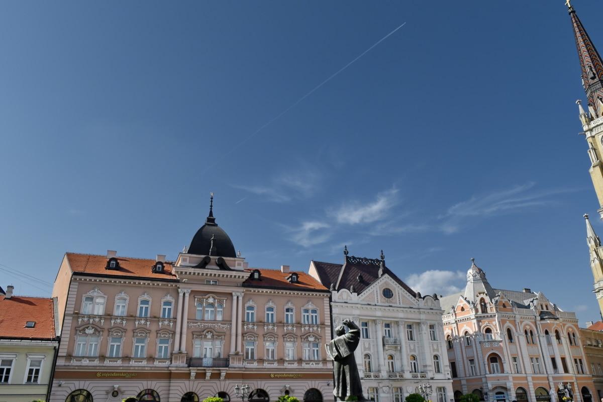 міський пейзаж, Центр міста, будинок, місце проживання, Архітектура, Будівля, Палац, місто, Старий, на відкритому повітрі