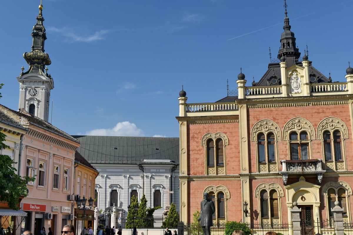 residence, palace, house, church, building, monastery, architecture, city, tower, old