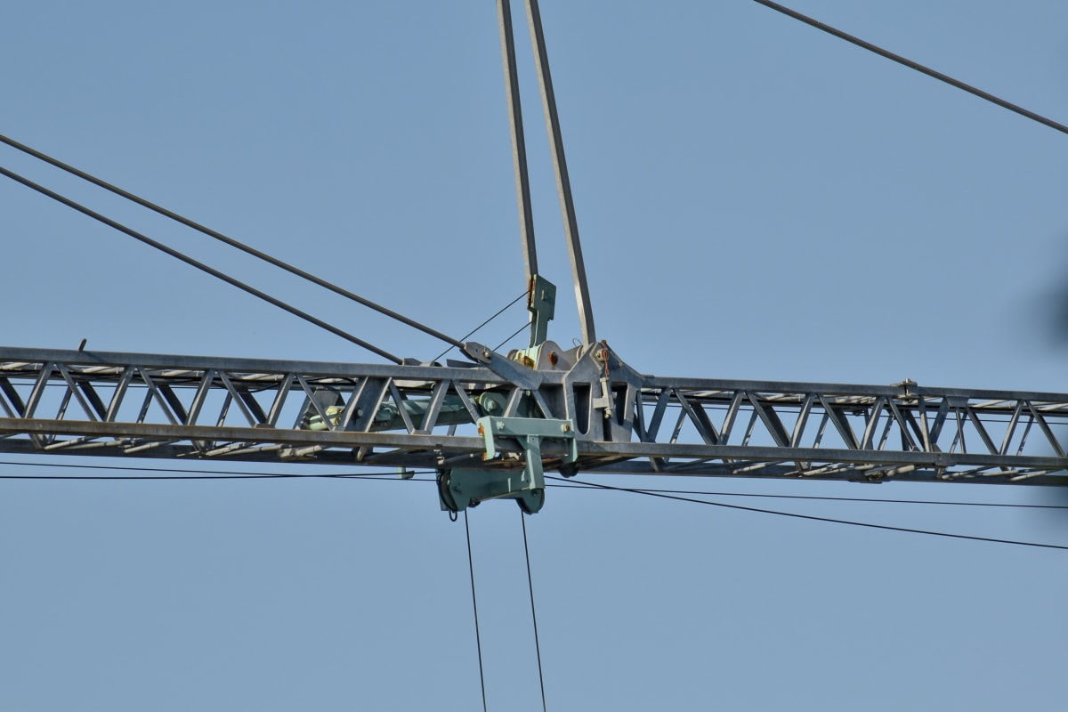 wire, crane, industry, device, cable, steel, equipment, construction, iron, high