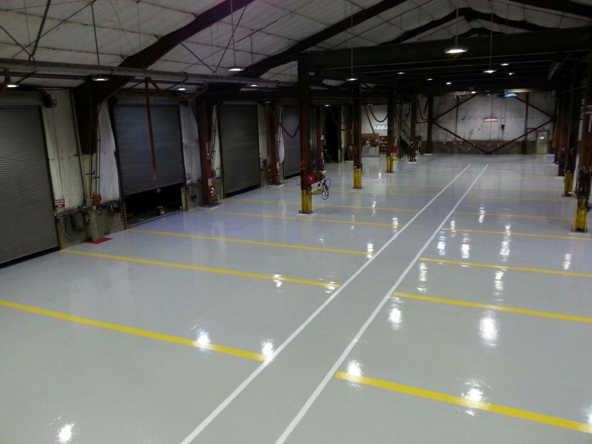 fabriek, Hall, industrie, opslag, werkplek, faciliteit, binnenshuis, bedrijf, gebouw, reflectie