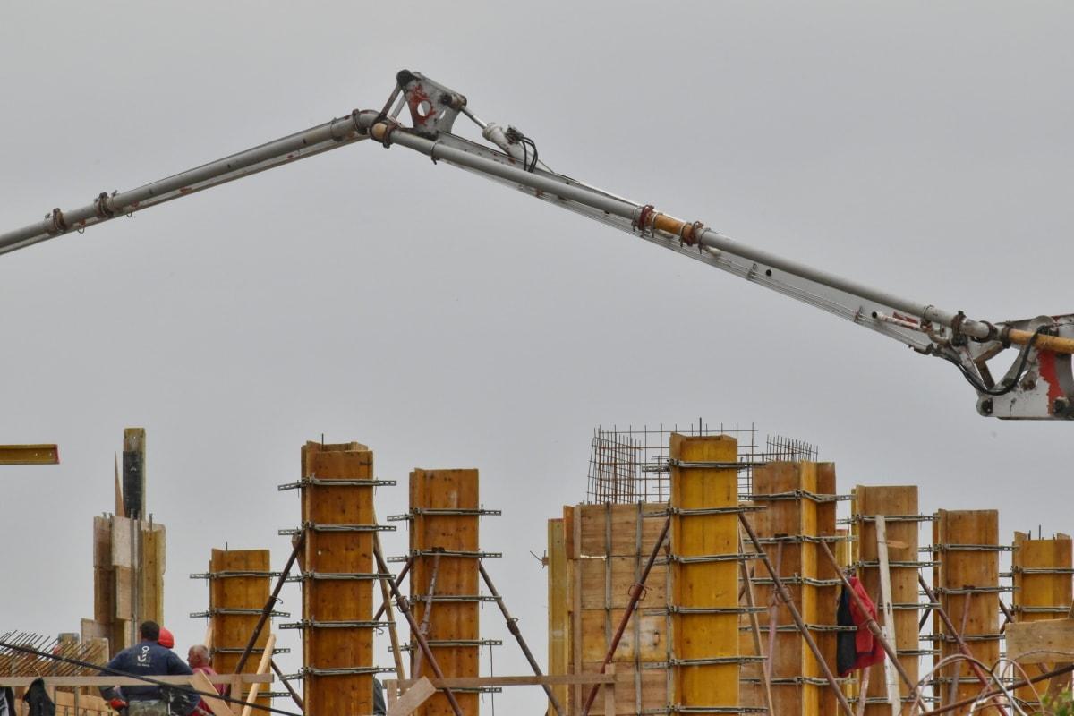 konstruksjon, bygningsarbeider, Crane, industri, enheten, industriell, bygge, utstyr, stål, utendørs