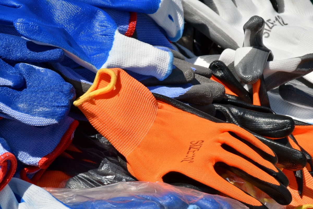 detail, gloves, plastic, rubber, stock, shopping, fashion, equipment, safety, accessory