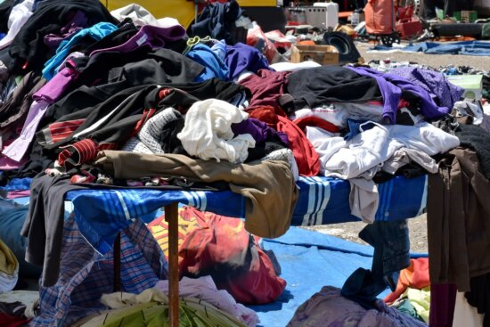 clothes, market, street, garbage, waste, many, group, shopping, stock, recycling