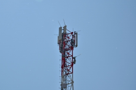 communication, radio antenna, radio receiver, electricity, high, cable, industry, antenna, tower, technology