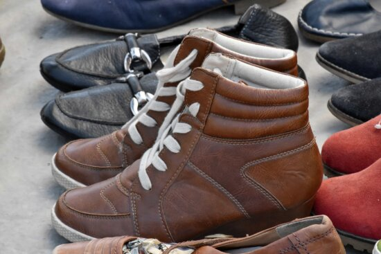 boot, shoes, pair, leather, footwear, boots, shoe, fashion, old, outdoors
