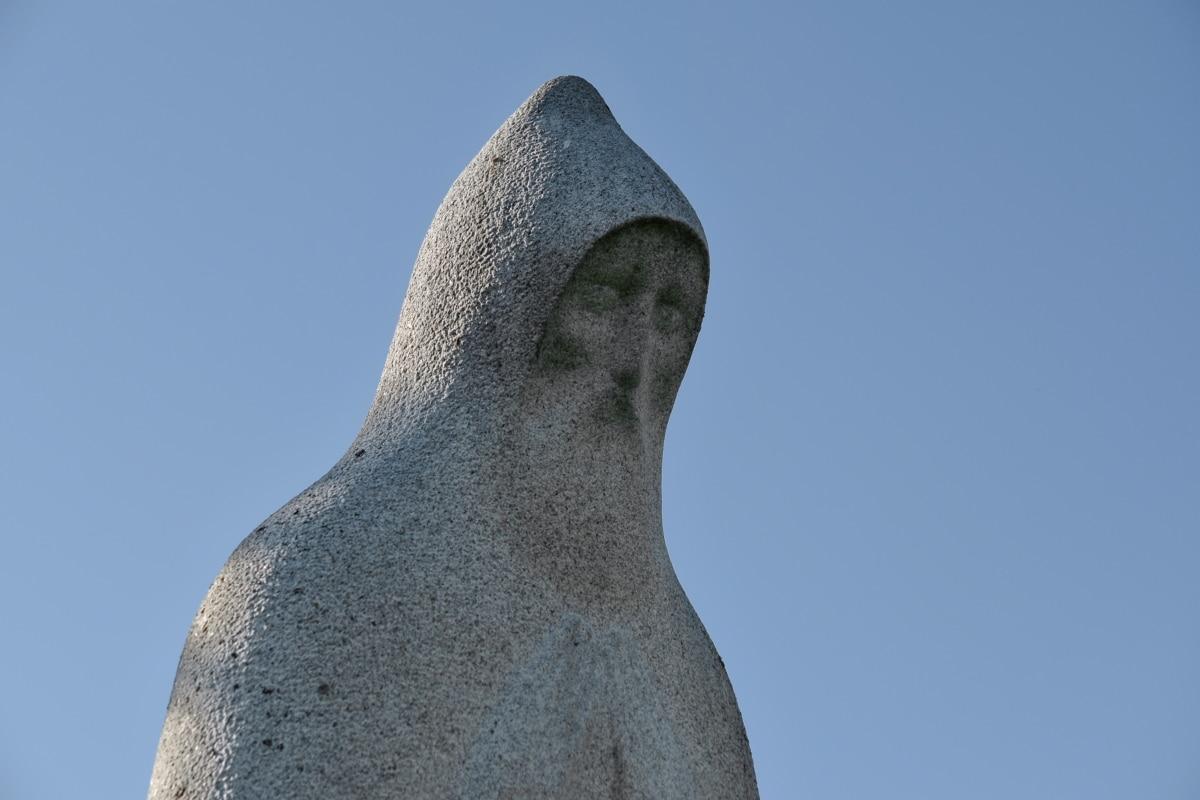 기도, 조각, 거석, 예술, 바위, 동상, 자연, 세로, 야외에서, 돌