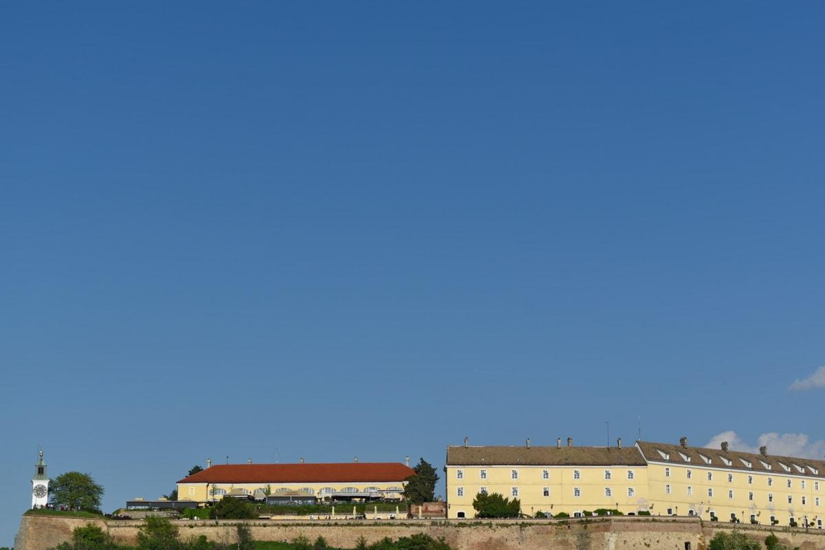 slottet, Serbia, turistattraksjon, utendørs, arkitektur, natur, blå himmel, landbruk, dagslys, bygge