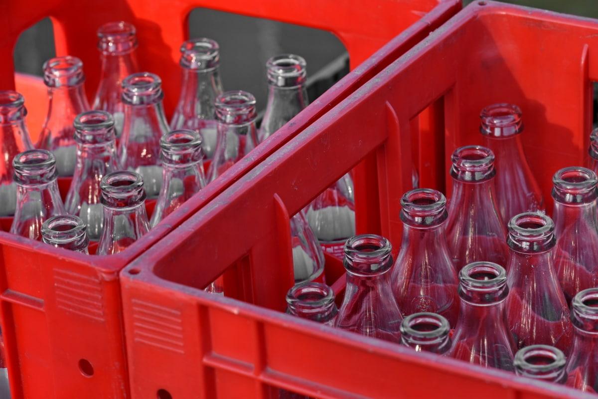 flaske, glass, beholder, utstyr, industri, stål, drikke, rør, boksen, plast