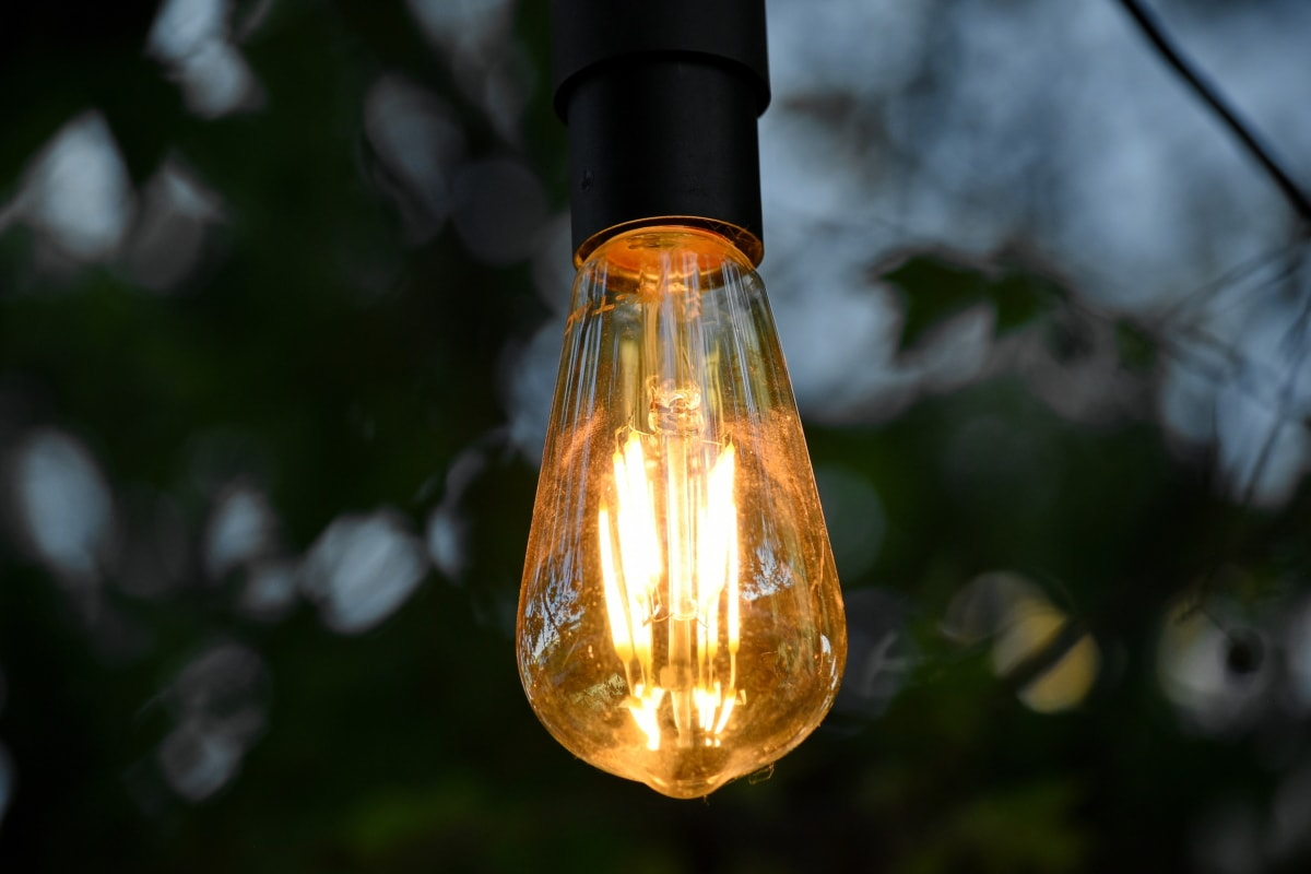 лампочки, пляшка, лампа, світло, Скло, яскраві, світлові, на відкритому повітрі, природа, розмиття