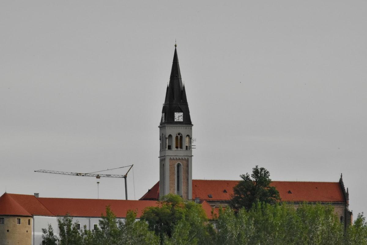 Croatia, kiến trúc, Nhà thờ, xây dựng, tháp, Nhà thờ, tôn giáo, ánh sáng ban ngày, ngoài trời, Thành phố