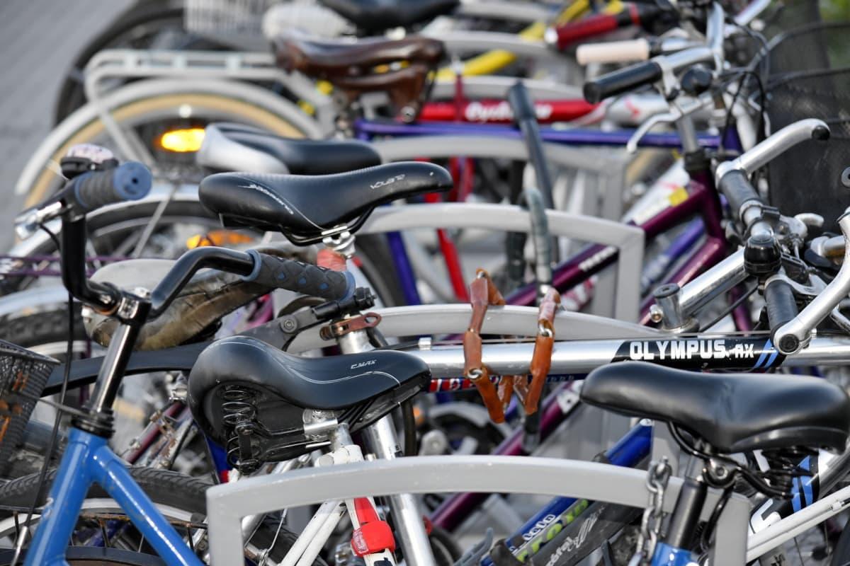 minibike, moto, roda, veículo, ciclomotor, bicicleta, ciclista, alumínio, tráfego, rua