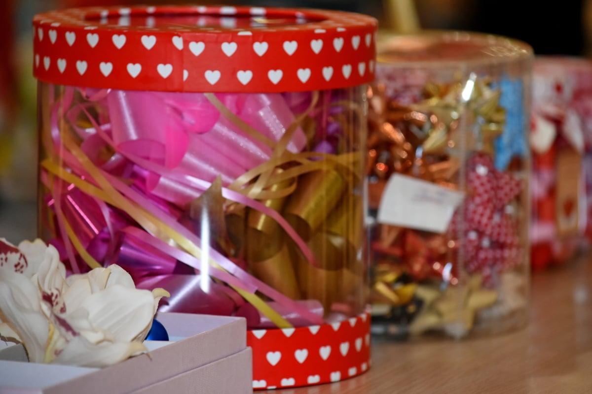 bánh kẹo, chủ đề, hộp, truyền thống, Trang trí, Lễ kỷ niệm, container, trong nhà, Quà tặng, màu sắc
