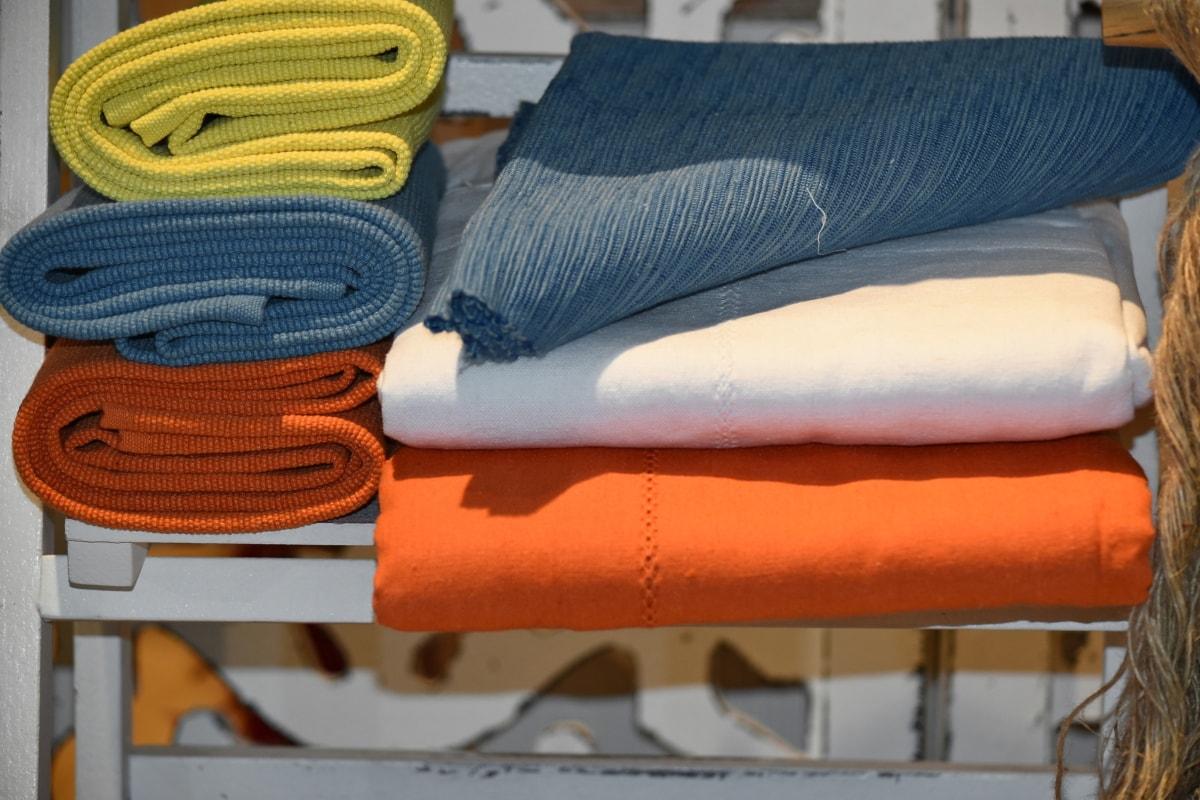couverture, coton, mode, meubles, confort, à l'intérieur, Design d'intérieur, siège, coussin, couture