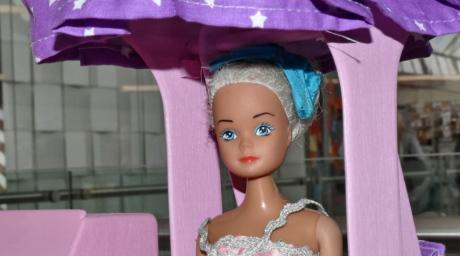 dukke, nydelig, parasoll, attraktiv, vakker, dekorasjon, detaljer, detaljer, øyne, ansikt
