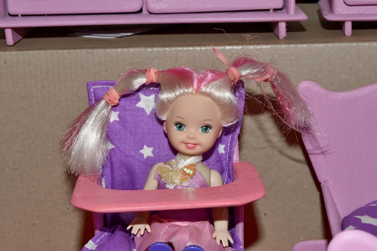 Bez Bebek, mobilya, el yapımı, mutluluk, plastik, Çocukluk, Kız, oyuncak, eğlenceli, şirin