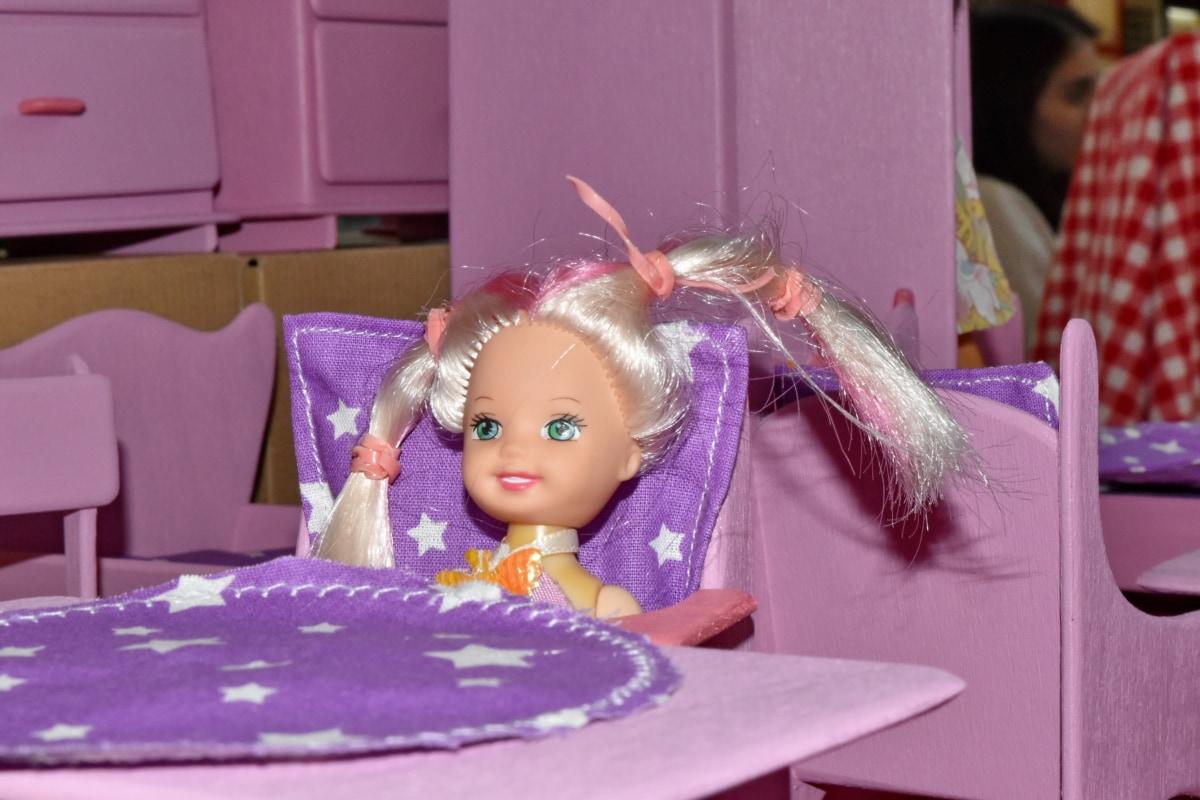 boneca, quarto, tabela, dentro de casa, móveis, diversão, retrato, cadeira, brinquedo, estilo de vida