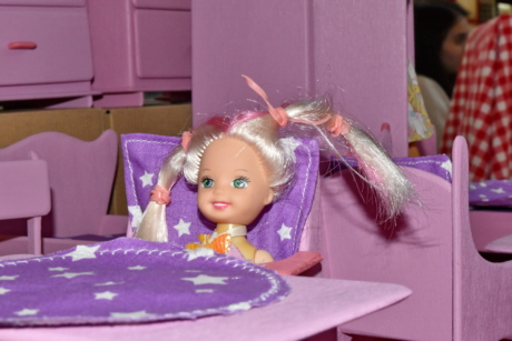 doll, room, table, indoors, furniture, fun, portrait, chair, toy, lifestyle