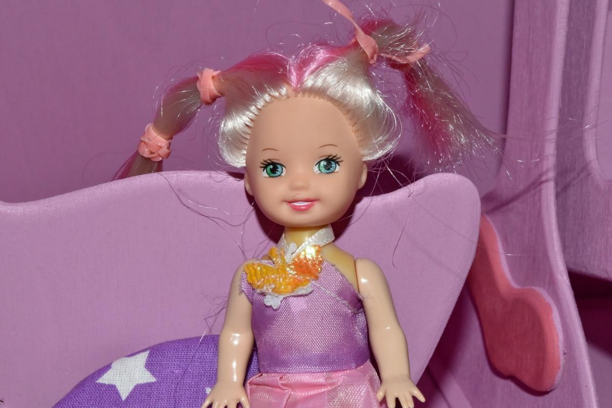 bábika, tvár, portrét, krásna, krásny, móda, model, zábava, Farba, Baby