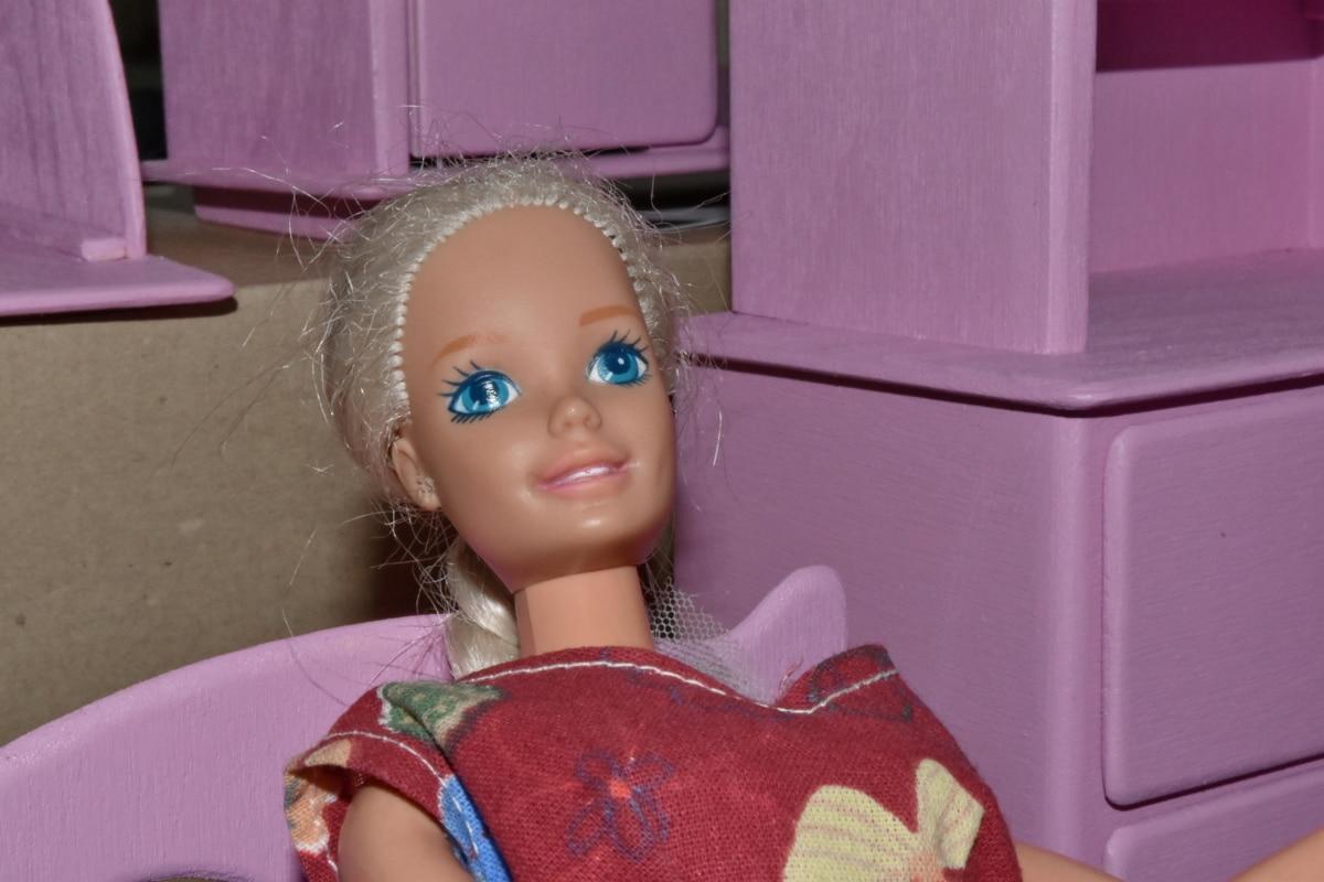 Detaljer, plast, docka, barn, personer, Flicka, inomhus, Familj, kul, porträtt