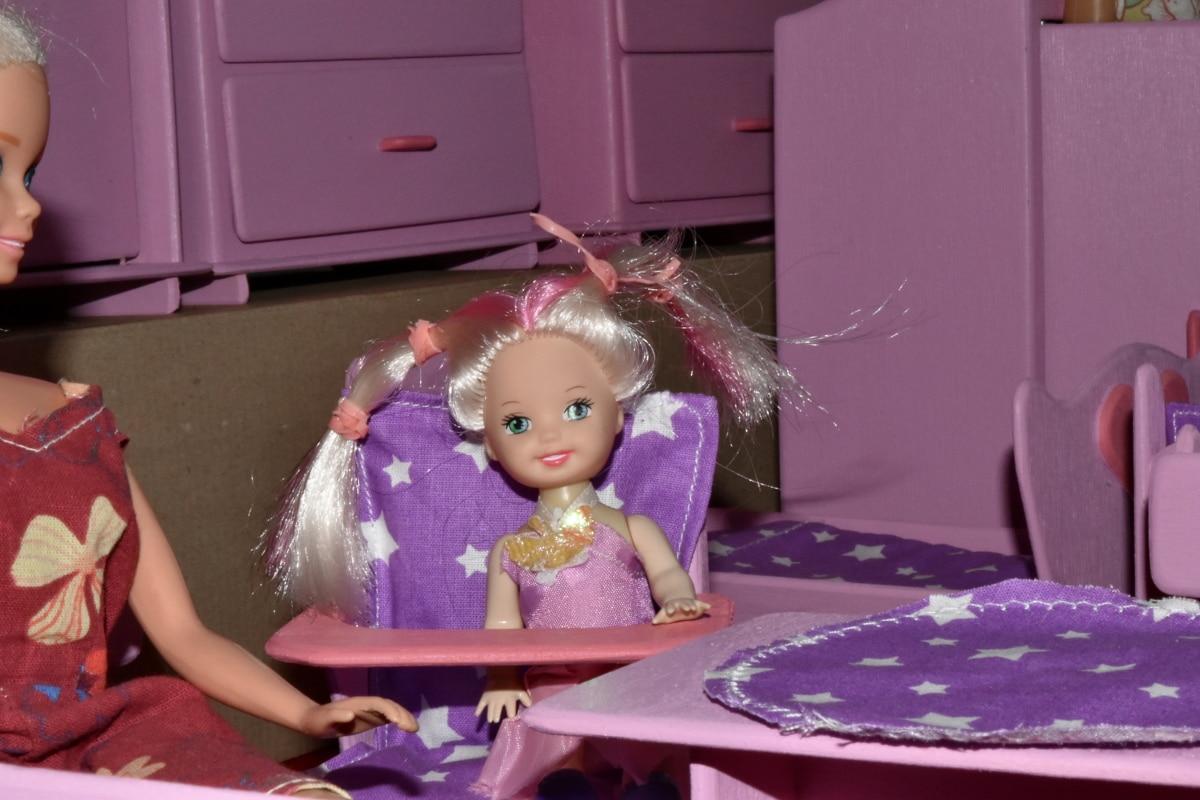 Детские, Куклы, Мебель, материал, пластик, Милая девушка, магазин игрушек, люди, кукла, Детские