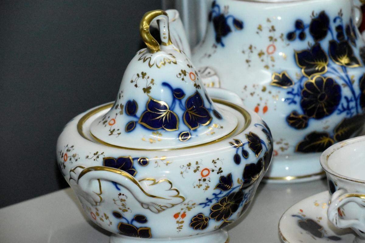 çaydanlık, Sofra takımı, çanak çömlek, toprak, çay, Porselen, Kupası, Sanat, Seramik, el yapımı