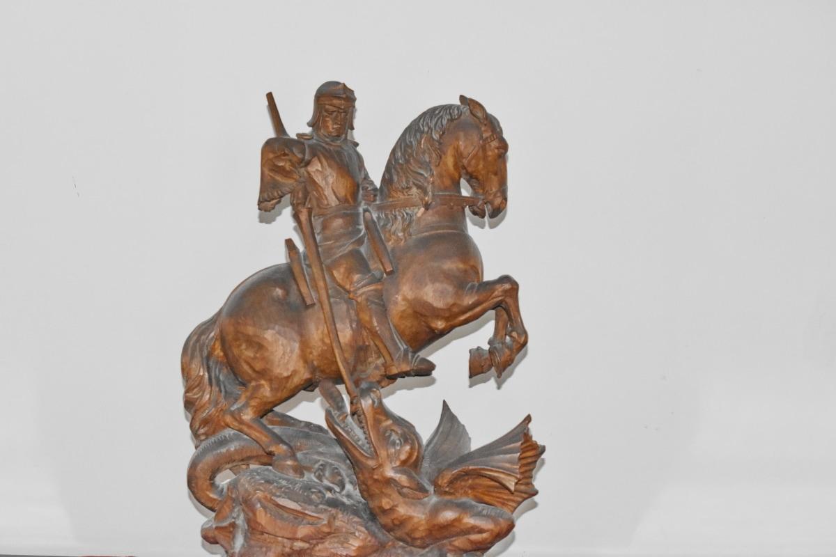 แกะสลัก, ทหารม้า, ศิลปะ, ประติมากรรม, รูปปั้น, โบราณ, บรอนซ์, บาโร, เก่า, รูป