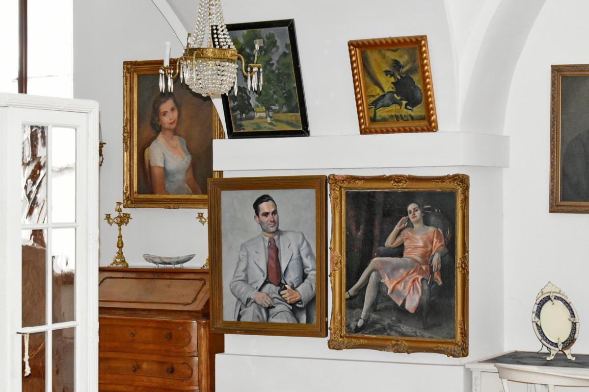 Barok, Güzel Sanatlar, Galeri, İç Dekorasyon, kapalı, mobilya, Resim, Oda, Müze, Ana sayfa