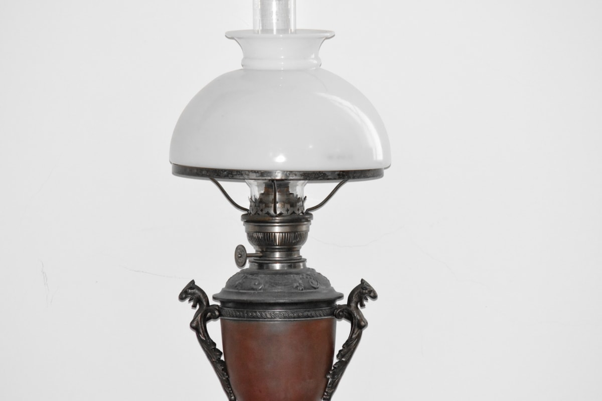 lamp, furniture, antique, electricity, vintage, old, art, lantern, classic, still life