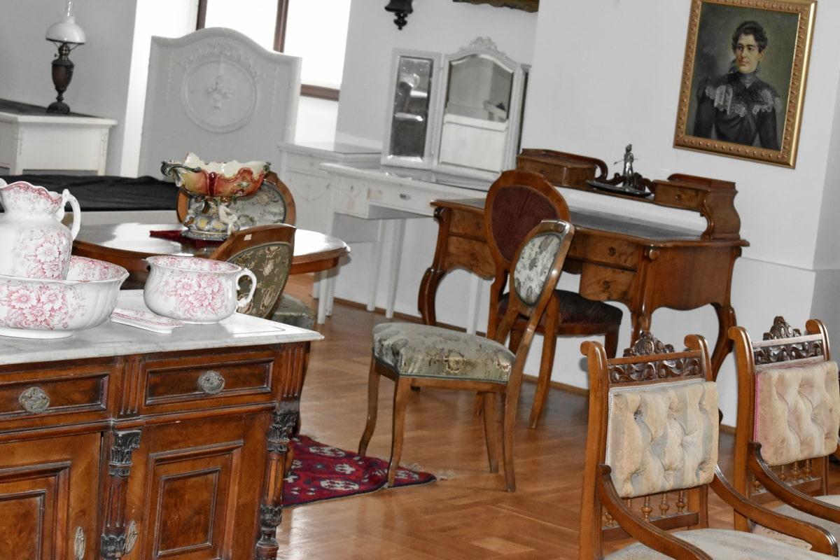 szekrény, belsőépítészet, Bútor, szoba, konyha, ülés, táblázat, szék, beltéri, Haza