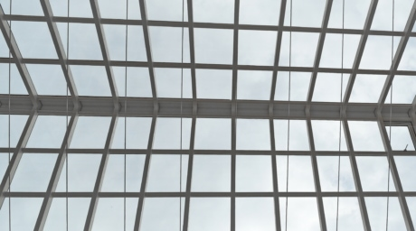 atrium, roof, windows, glass, building, window, architecture, modern, geometric, steel