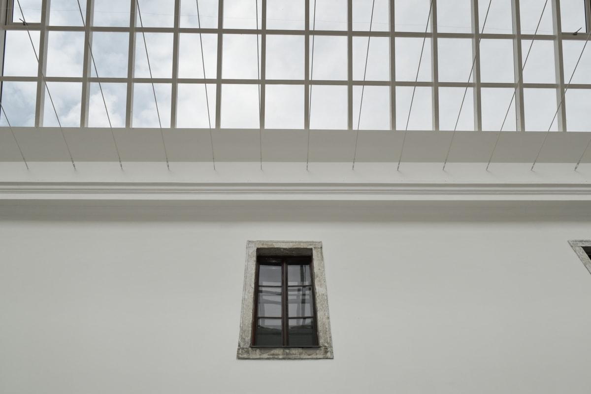 épület, ablak, építészet, fal, beltéri, kortárs, szabadban, nyári időszámítás, városi, belsőépítészet