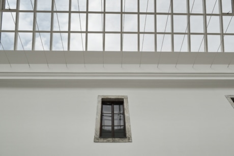 building, window, architecture, wall, indoors, contemporary, outdoors, daylight, urban, interior design