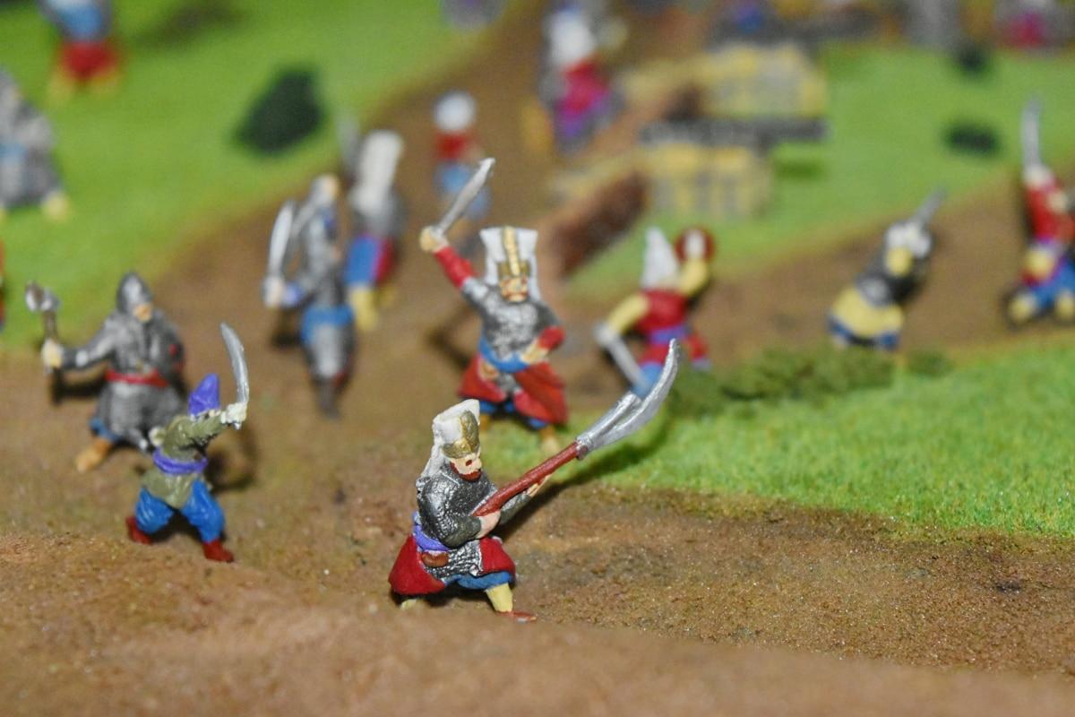 戦い, 戦場, オスマン帝国, 人々, 楽しい, レクリエーション, 男, アクション, 衣装, 多く