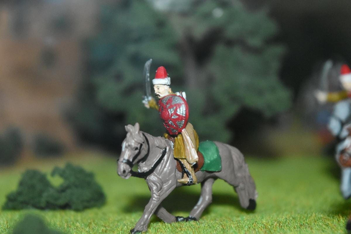kamp, slagmarken, kavaleri, middelalderen, Osmanske, folk, hest, utendørs, mann, militære