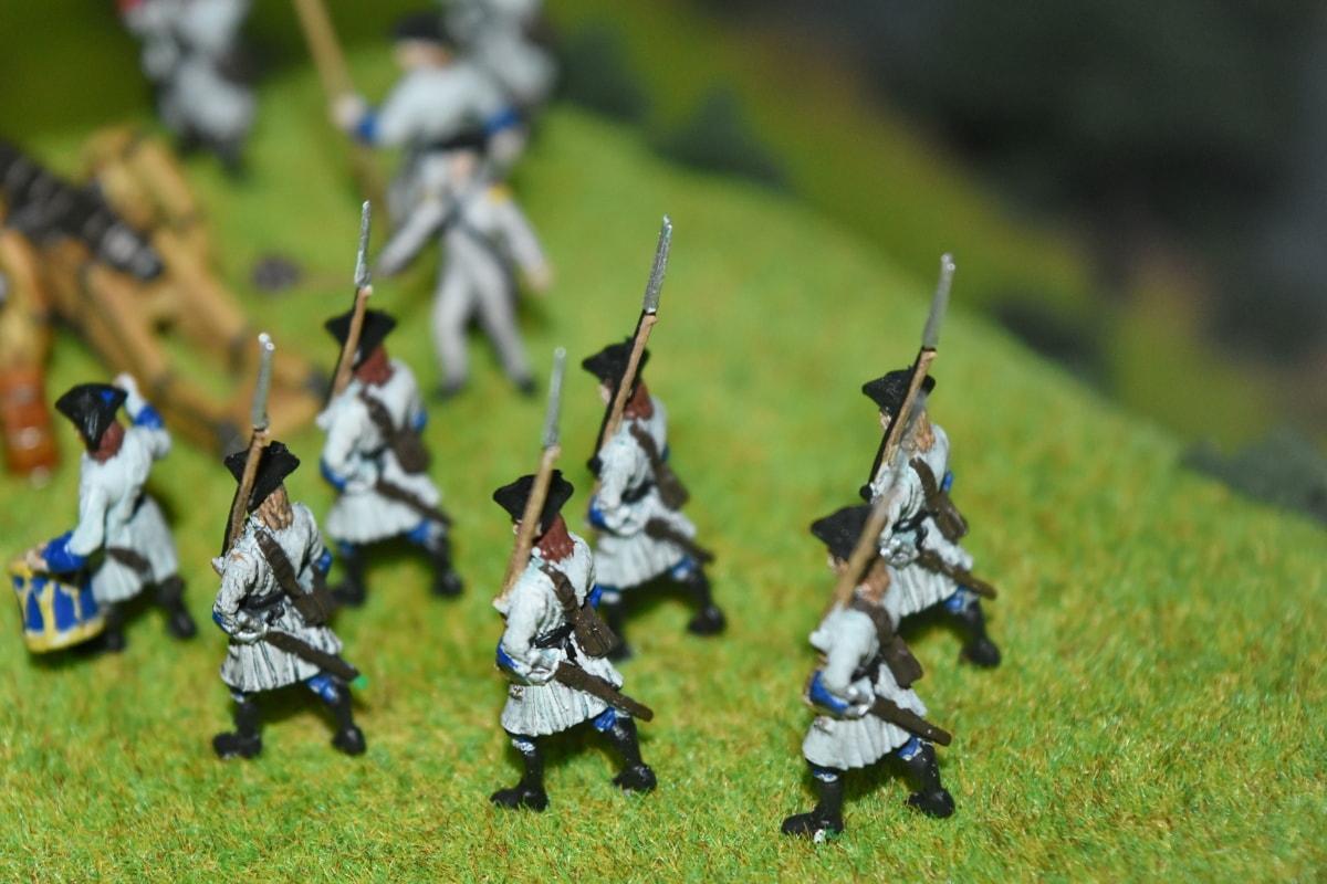 bojno polje, rekonstrukcija, lemljenje, igračke, oklop, oružje, vojne, čovjek, rat, performanse