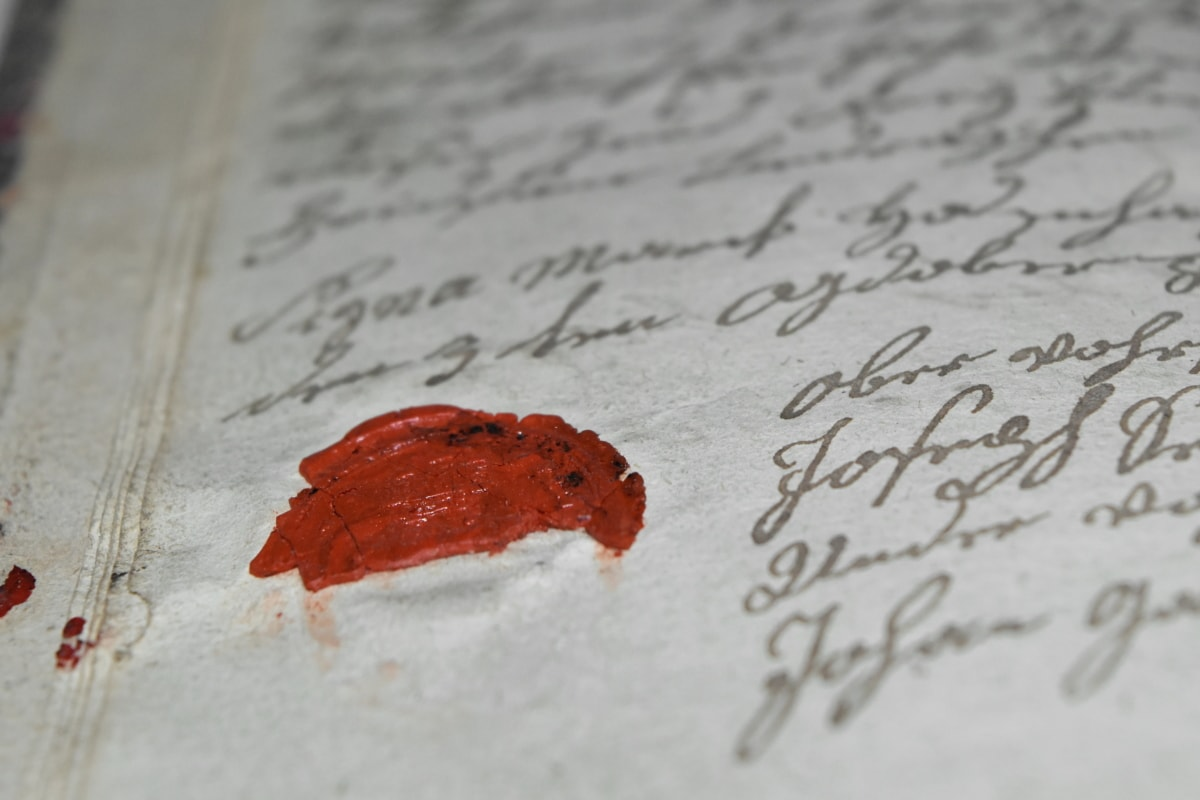 antiquité, histoire, papier, écriture, texte, éducation, brouiller, à l'intérieur, nature morte, document