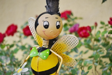 history, honeybee, old, toy, flower, art, christmas, decoration, traditional, summer